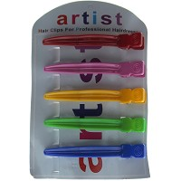 Artist Curved Plastic Clip 5 pack 100mm
