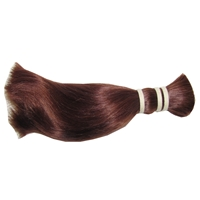 Asian Real Hair 25cm Straight (Auburn)