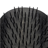 Manta Black Hairbrush