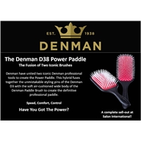 Denman D38 Power Paddle Brush