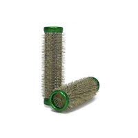 Metal Rollers in Green - 15mm