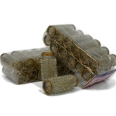 Metal Rollers (24mm) Brown 10x 12pack