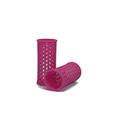 Plastic Rollers in Pink x10 - 28mm