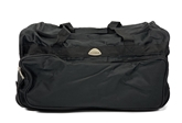 Essentials Black Holdall Kit Bag with Straps
