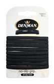 Pack of 10 x45mm Ponytail Bands Black