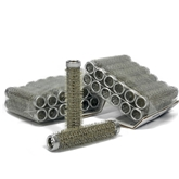 Metal Rollers (11mm) Silver 10x 12pack