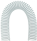 Metal Flexi Headband Comb